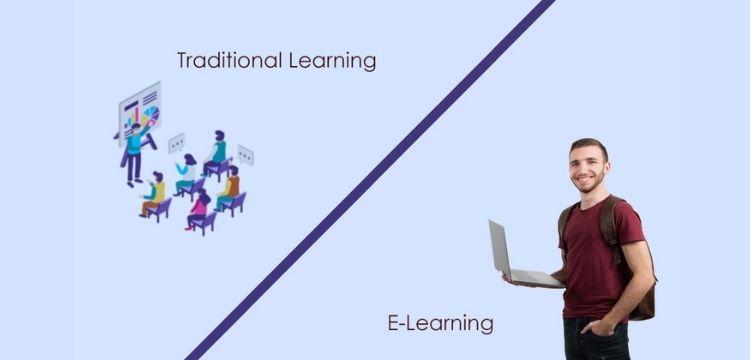 E Education vs T Education