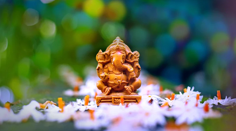 Ganesh Chaturthi festivities come full circle in the submersion of Ganesha symbols into the ocean, waterways, lakes or lakes. As most symbols are produced using Plaster of Paris and poisonous, non-biodegradable substance hues, the drenching winds up making impressive mischief marine life.