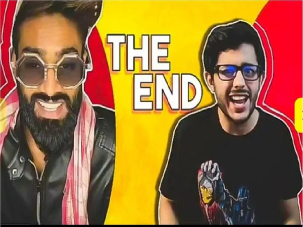 The image displays video roast by Carry Minati that started Tiktok Vs Youtube controversy