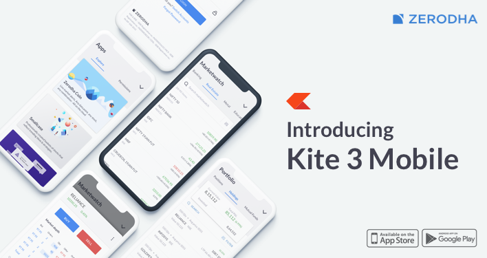 Kite is a sleek investment and trading platform built for modern times