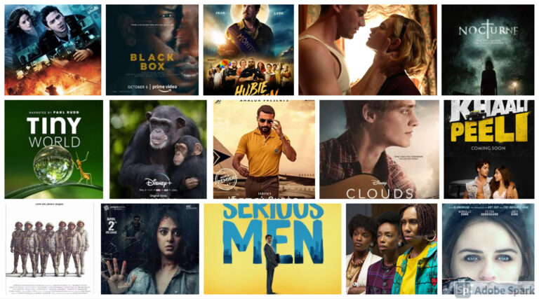 MOVIES RELEASING IN OCTOBER 2020 ON OTT PLATFORMS