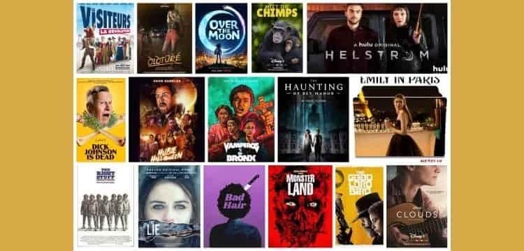 MOVIES RELEASED IN OCTOBER 2020 ON OTT PLATFORMS