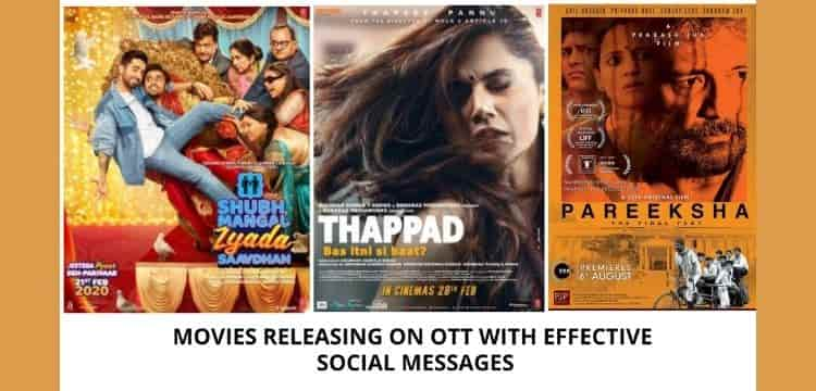 MOVIES ON OTT WITH SOCIAL MESSAGE