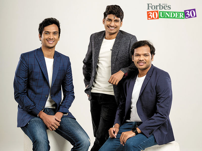 Founders in Forbes List - RAPIDO THE TWO WHEELER CAB