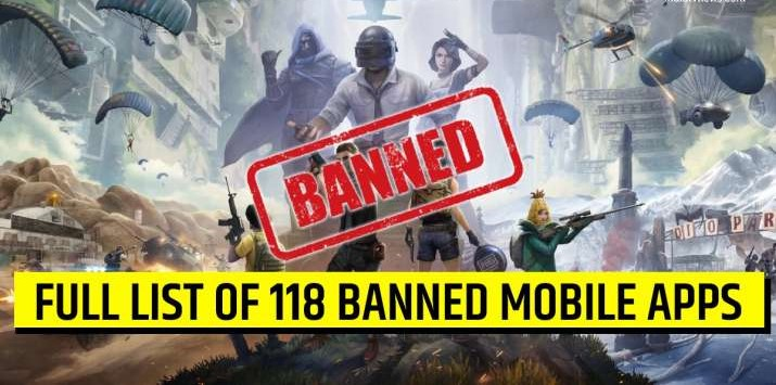 FULL LIST OF 118 APPS INCLUDING PUBG BANNED