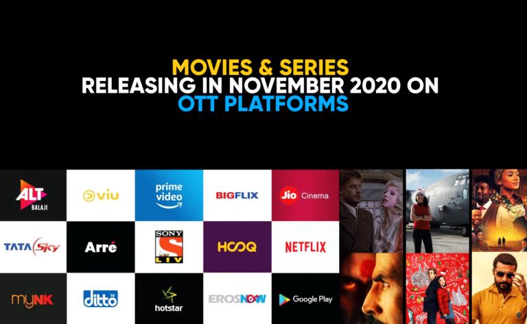 Movies Releasing in November