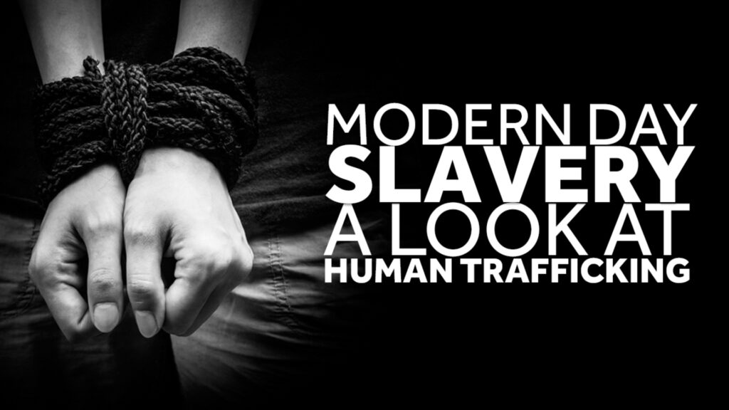 Modern day slavery titled pic