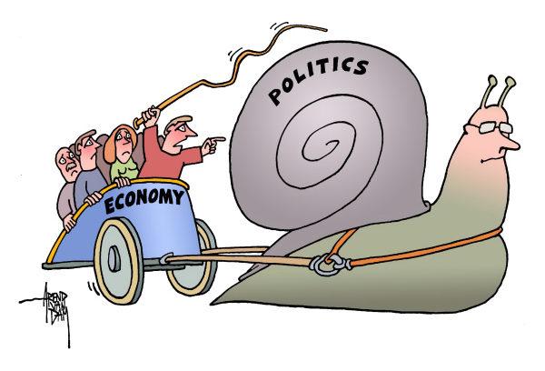 Economy and politics image