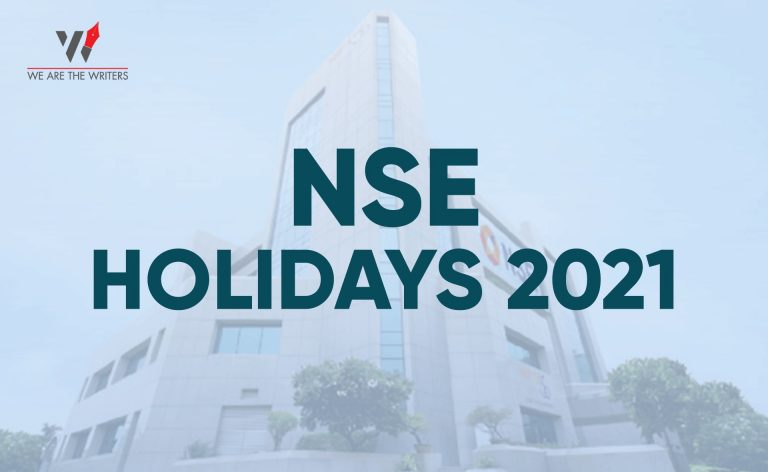 List of NSE Holidays 2021