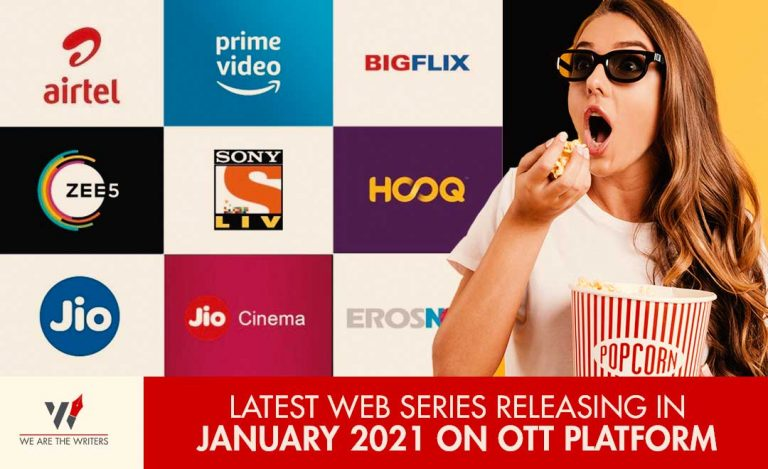 WEB SERIES RELEASING IN JANUARY 2021