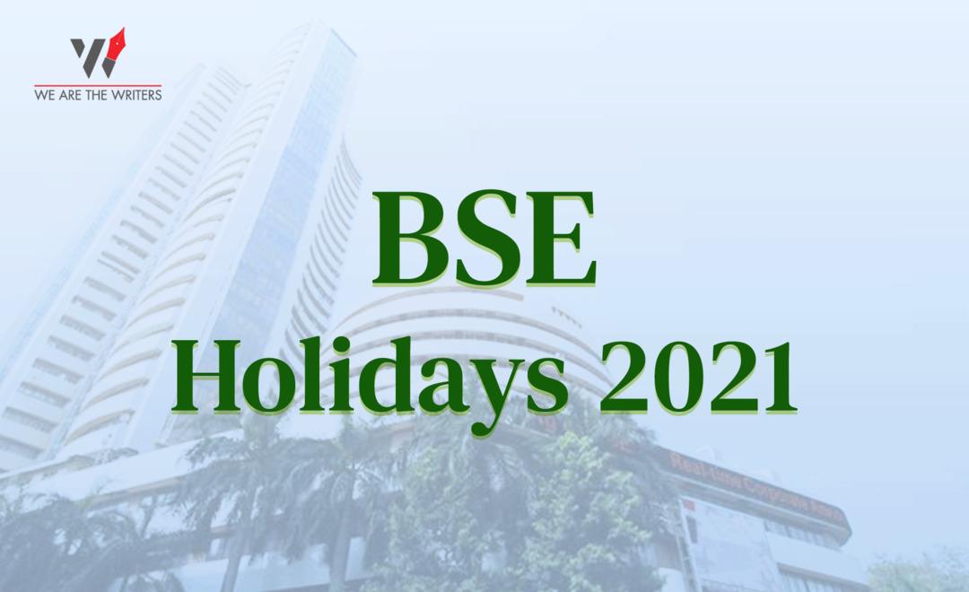 BSE HOLIDAYS 2021