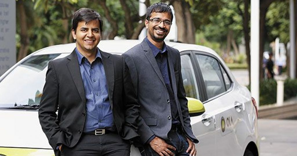 OLA CABS founders Bhavish Aggarwal and Ankit Bhati, Indian Startup