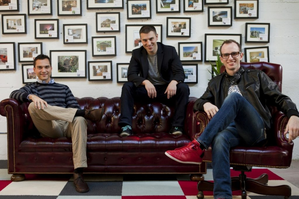 Founders of Airbnb Brian Chesky, Joe Gebbia and Nathan Blecharczyk, TOP 10 UNICORN STARTUPS OF WORLD