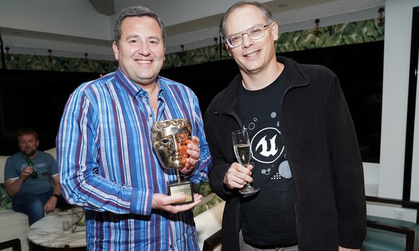 EPIC Games founders Mark Rein and Tim Sweeney, UNICORN STARTUP