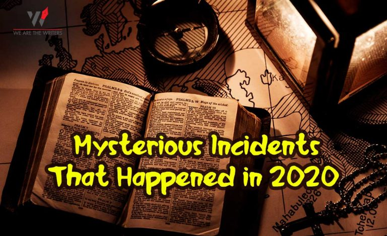 Mysterious Incidents That Happened Recently