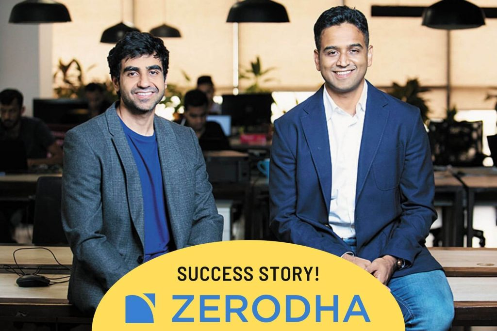 ZERODHA founders Nithin Kamath and Nikhil Kamath, TOP 10 UNICORN STARTUPS OF INDIA