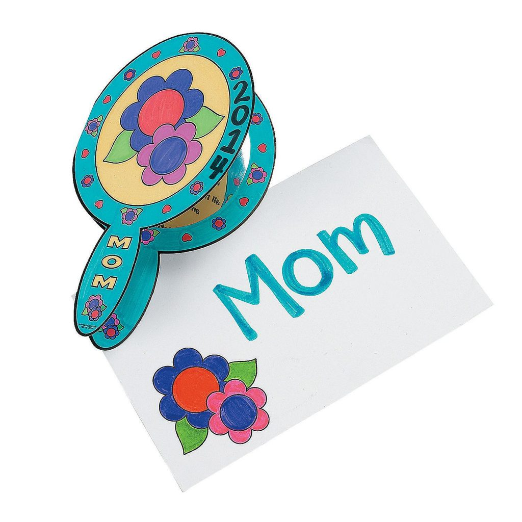Mirror Card for Mom