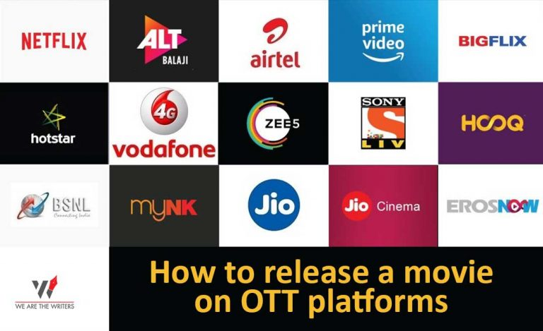 how to release movies on ott platforms
