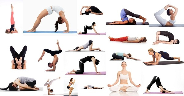 Different Asanas of Yoga