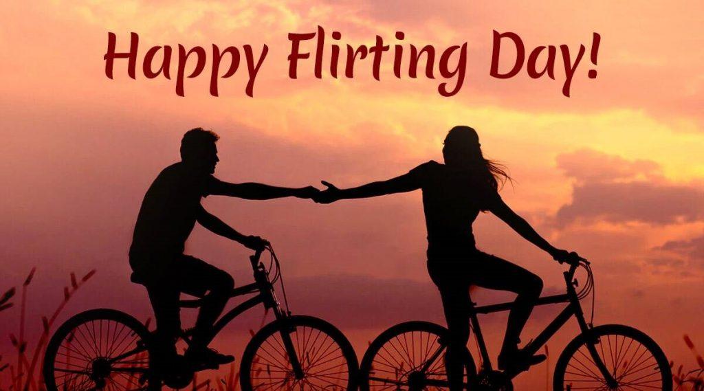 18th February - Flirting Day - Days of the Anti Valentines Week 2021