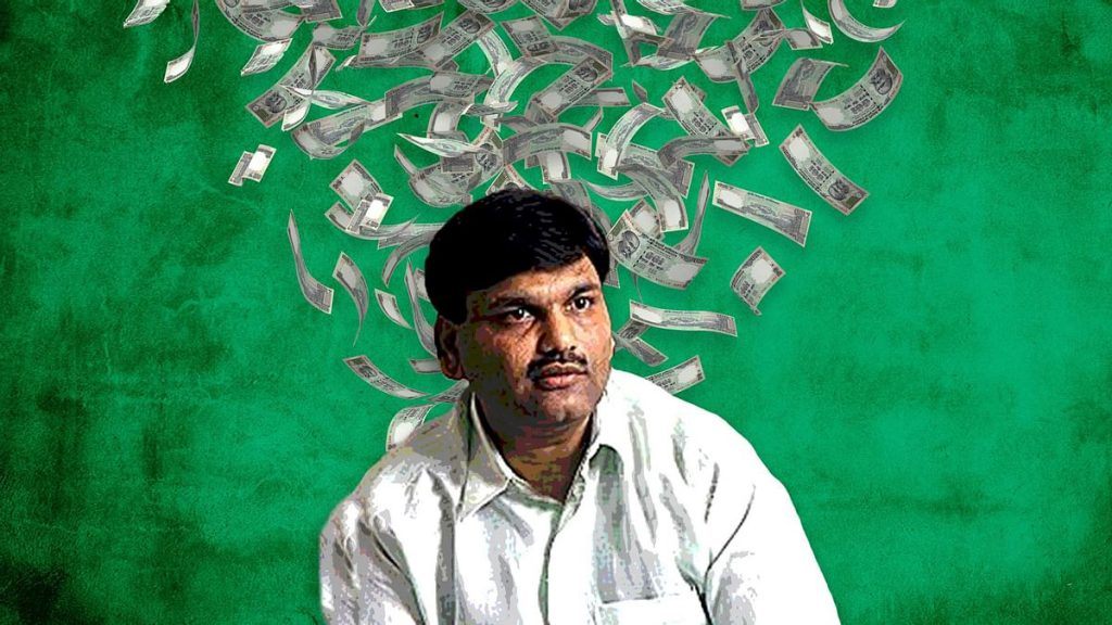 Pic shows Harshad Mehta, The Man behind the Biggest 1992 Indian Stock Market Scam
