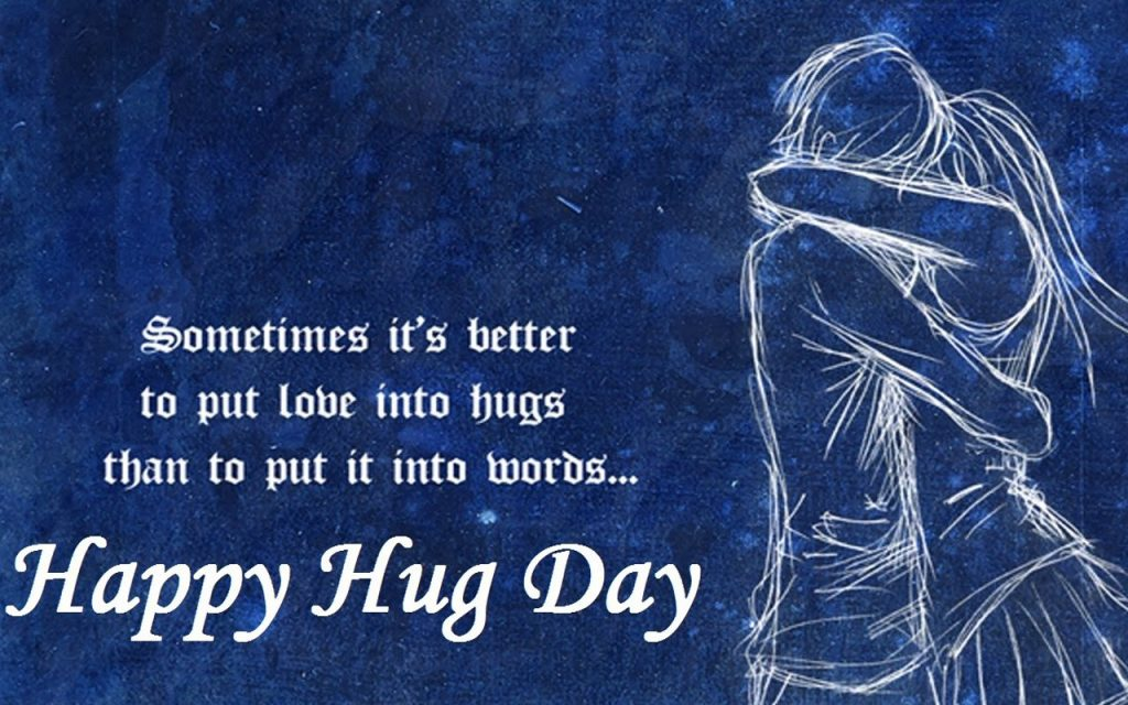 12th February - Hug Day - Days of the Valentines Week 2021