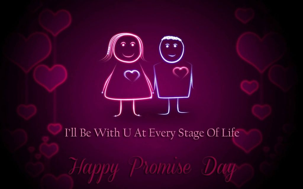 11th February - Promise Day - Days of the Valentines Week 2021
