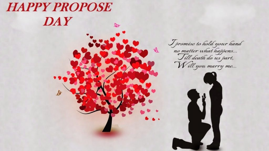 8th February - Propose Day - Days of the Valentines Week 2021