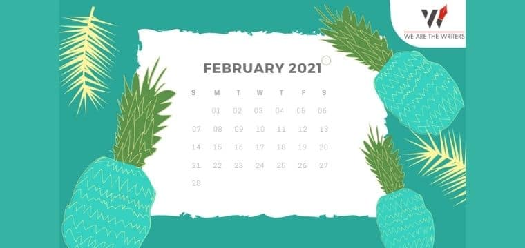 List of Important Days in February 2021