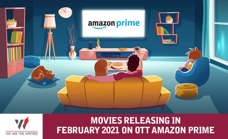 MOVIES RELEASING IN FEBRUARY 2021 ON AMAZON PRIME
