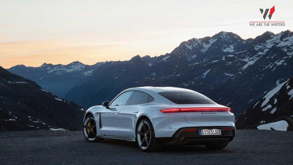 Porsche Taycan - 9 BEST ELECTRIC CAR COMPANIES