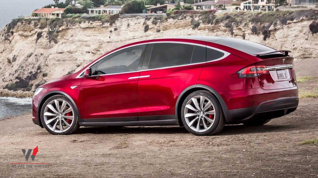 Tesla Model X - 9 BEST ELECTRIC CAR COMPANIES