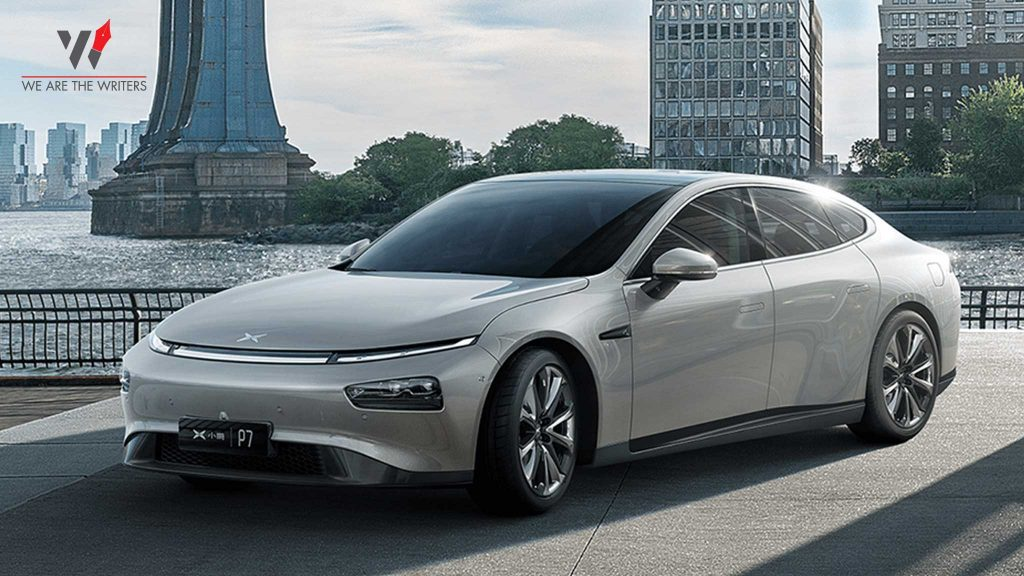 Xpeng P7 - 9 BEST ELECTRIC CAR COMPANIES