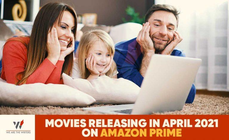 Movies on amazon prime in April 2021