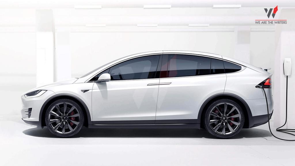 2020 Tesla Model X Charging