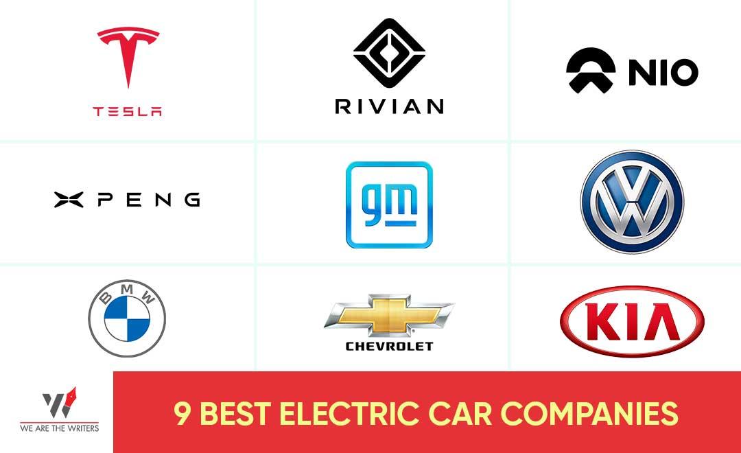 9 BEST ELECTRIC CAR COMPANIES