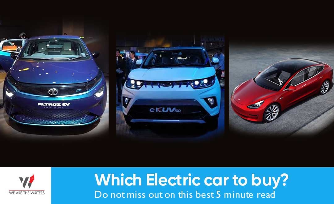Which Electric car to buy? Do not miss out on this best 5 minute read