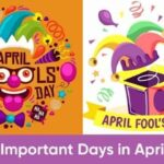 Important Days in April 2021