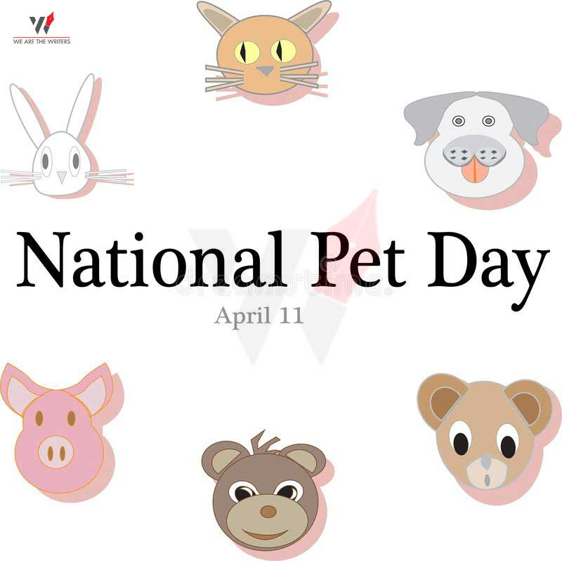 Important Days in April 2021 National Pet Day