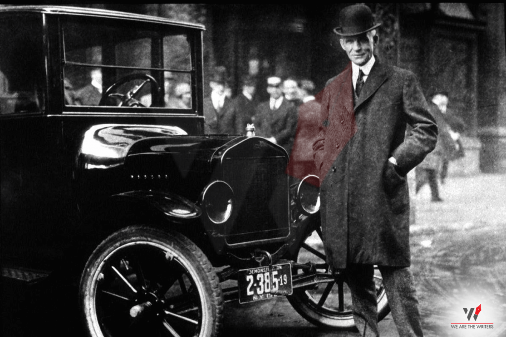 First Automobile Industrial Revolution