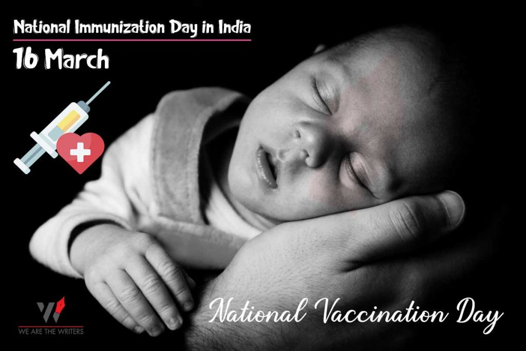 Important Days in March 2021 National Vaccination Day
