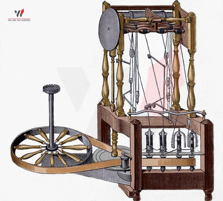 Industrial Revolution Water Frame
