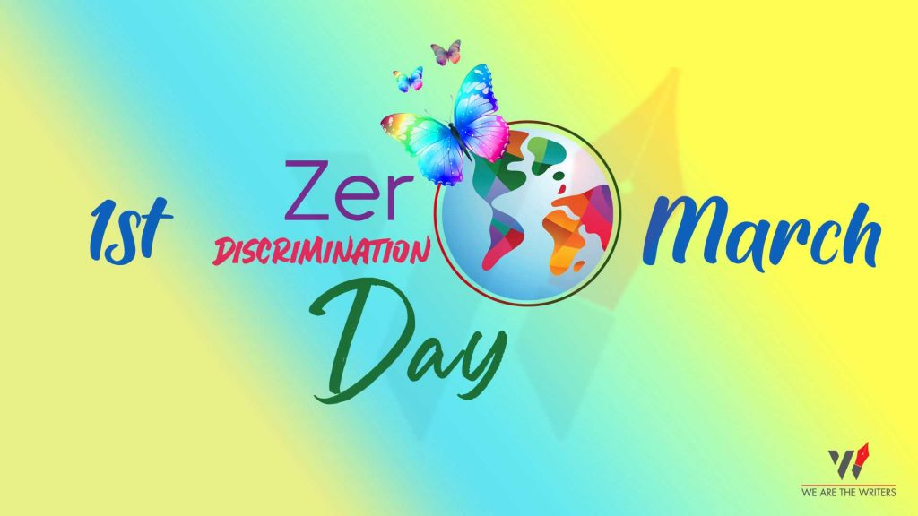 Important Days in March 2021 Zero Discrimination Day