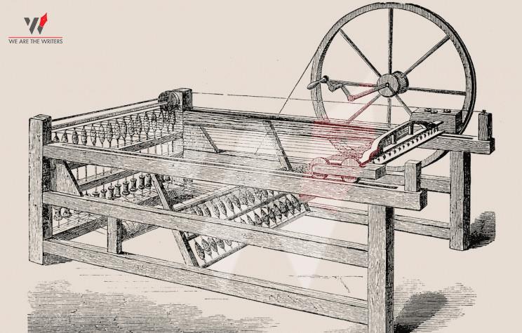 Industrial Revolution Spinning Jenny