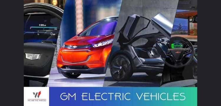 GM Electric Vehicles 2021