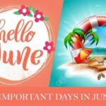 Important Days in June 2021