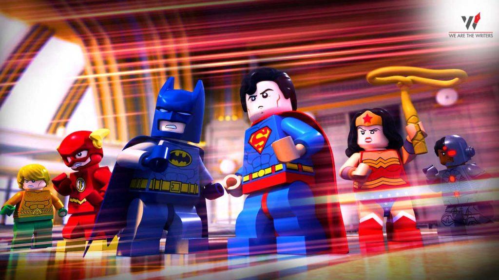Lego DC Comics: Batman Be-Leaguered  Batman Animated Movies