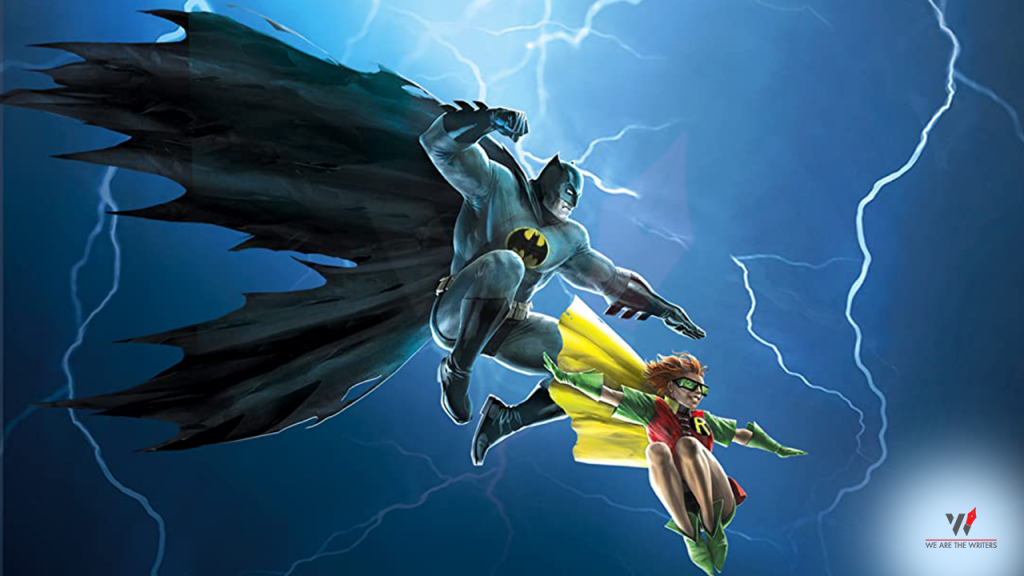 Batman: The Dark Knight Returns Part 1 & 2 DC Animated Movies