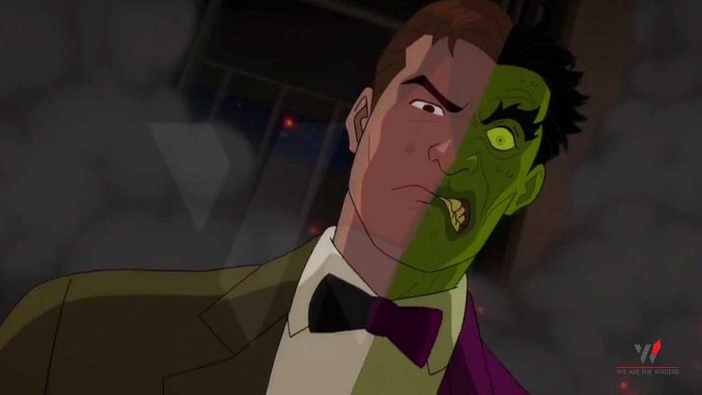 Batman vs. Two-Face Batman Animated Movies