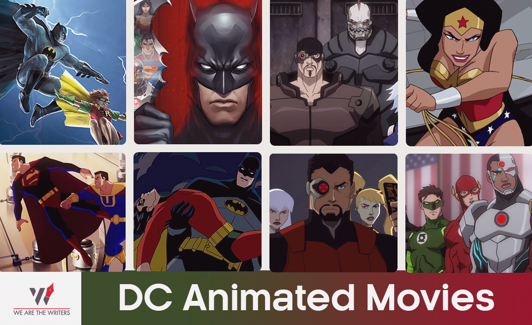 DC Animated Movies